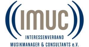 Wir sind Mitglied im Interessenverband Musikmanager & Consultants e.V. (IMUC)