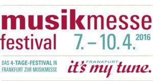 Musikmesse Festival 2016 Logo